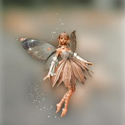 fairy frost fall makebelieve fantasy nature pretty madewithpicsart editingtools freetoedit picsart