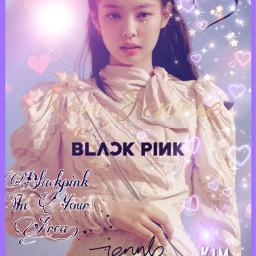 kimjennie blackpink kpop freetoedit