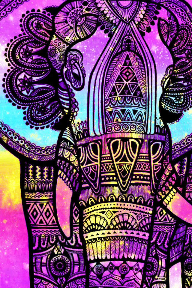#freetoedit @mpink88 #glitter #sparkle #galaxy #elephant #animal #aesthetic #hipster #pattern #design #creative #art #pastel #colorful #neon #background #overlay #wallpaper
