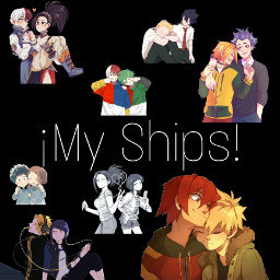 myheroacademia ships myships kiribaku poprocks izuocha todomomo cute hotwings freetoedit