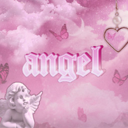 pink pinkaesthetic butterfly butterflies aesthetic cute glitter y2k angel barbie angelcore heart pearl moon clouds angelic sparkles text font pretty 90saesthetic hotpink trendy pinkbutterflies freetoedit