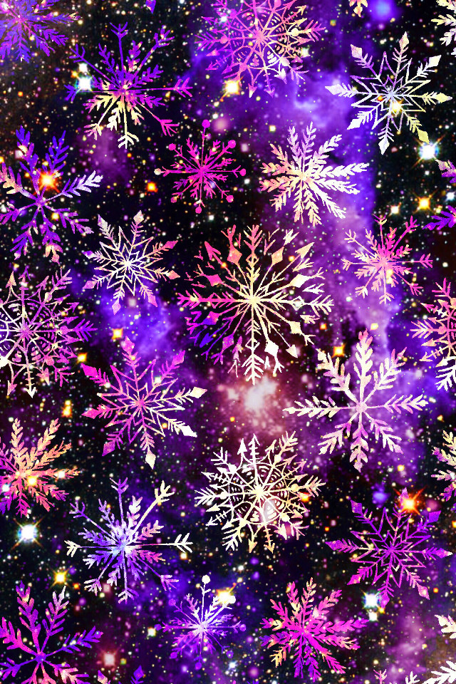 #freetoedit @mpink88 #glitter #sparkle #galaxy #snowflakes #pattern #winter #night #sky #stars #neon #holidays #christmas #weather #frost #crystals #design #art #wallpaper #background #overlay