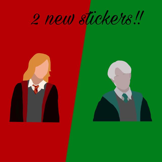 #stickers #weasley #weasleytwins #fred #george #fredweasley #georgeweasley #malfoy #draco #dracomalfoy #malfoyfamily #green #red #slytherin #gryffindor #slytherinaesthetic #slytherinhouse #gryffindoraesthetic #gryffindorhouse #gryffindorpride #slytherinpride #harrypotter #hogwarts