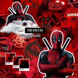 marvel marvelstudios marvelcomics avengers deadpool xmen deadpool2 redaesthetic red freetoedit