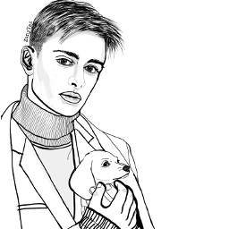 noahschnapp willbyers netflix sciencefiction tvseries strangerthings celebrity outline drawing outlineart illustration drawnbyme art colorme freetoedit