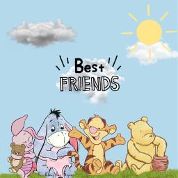 bestfriends friends friendship winniethepooh cute freetoedit