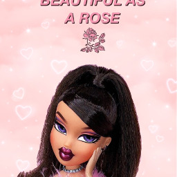 pink rose hearts love beautiful pinkaesthetic aesthetic roseaesthetic bratz bratzdoll bratzaesthetic baddie baddieaesthetic bougie classy wallpaper girly y2k retro blush makeup pretty quotes aestheticquotes wallpaperaesthetic freetoedit