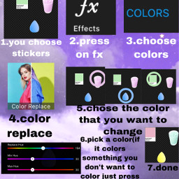 how to changethecolor freetoedit