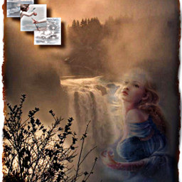 angel falls snoqualmiefalls freetoedit