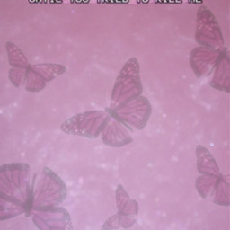 pink pinkaesthetic aesthetic butterfly butterflies pinkbutterflies cute pretty glitter sparkles barbie glossy quote shimmer y2k text pricess wallpaper background phonewallpapers hotpink lightpink dark 90s 💖💖💖 freetoedit