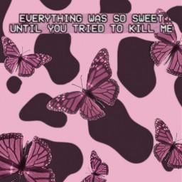 pink pinkaesthetic aesthetic butterfly butterflies pinkbutterflies cute pretty glitter sparkles barbie quote cow cowprint shimmer y2k text princess 90s wallpaper phonewallpapers hotpink lightpink 💖💖💖 freetoedit lightpink