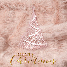 xmas gorgeous fur pink girly queen freetoedit