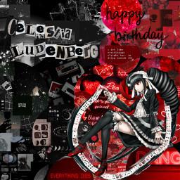 happybirthday celestialudenberg 23 monday danganronpa freetoedit