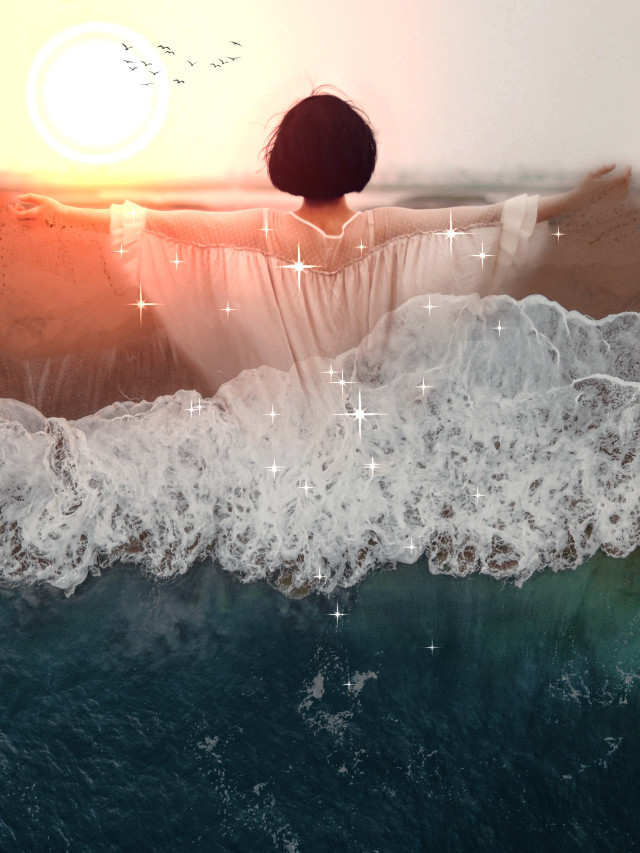 #replay #makeawesome #art #remixit #surreal #doubleexposure #sea #beach