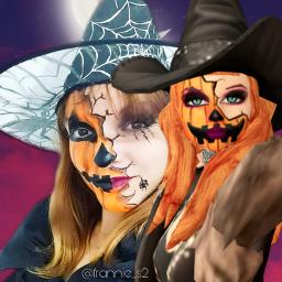 avakin avakinlife avakinvsreal avakinvsreallife reallife avakinmakeup avakininreallife bruxa witch abobora pumpkin halloween freetoedit