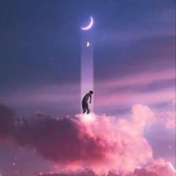 cloud clouds moon moons violet purple aesthetic purpleaesthetic violetaesthetic freetoedit