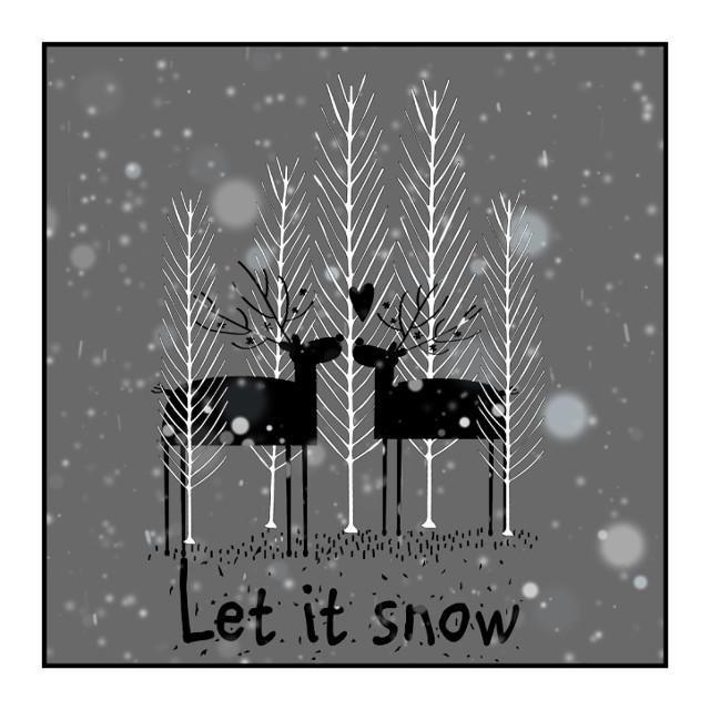 #letitsnow