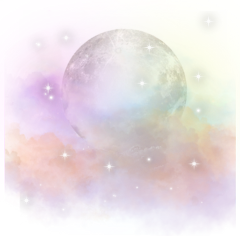 ftestickers glitter sparkle galaxy pastel moon clouds space magical dream night sky overlay freetoedit