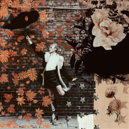 replay picsartreplay vintage retro picsareffects flowers umbrella image freetoedit