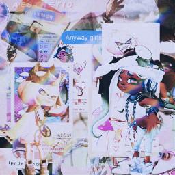 splatoon splatoon2 splatoon2marina splatoonmarina splatoon2pearl splatoonpearl splatoonedit shipedit offthehook offthehooksplatoon lesbian bi bisexual ship lgbtq aestheticedit newtoediting freetoedit