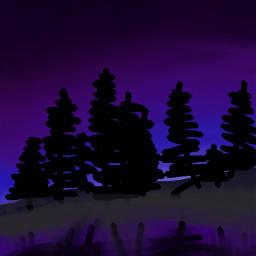 nighttimefun freetoedit colorpaint draw