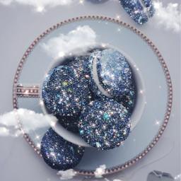 freetoedit macaroons glitter glittery glitters