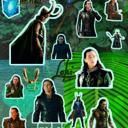 loki lokiodinson lokiofasgard marvel avengers avenger vengador green remixit freetoedit