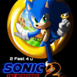 sonicmovie2 sonic sonicmovie poster freetoedit