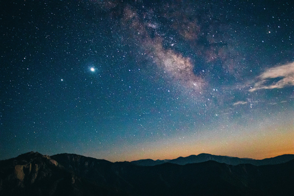 #galaxy #milkyway #night #sky #stars #nightsky #universe #constellation #mountains #daybreak #stat #cloud #etheral #heaven #blue #black #nature #landscape #photography #longexposure #orange #pink #freetoedit #remixit #pcmyinspiration #myinspiration