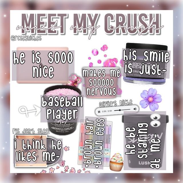 "𝙾𝙻𝙸𝚅𝙸𝙰 𝚆𝙴𝙻𝙲𝙾𝙼𝙴𝚂 𝚈𝙾𝚄 𝚃𝙾 𝚃𝙰𝚁𝙶𝙴𝚃¡ *:・🍡゚✧*:・🍭゚✧ →𝙻𝙴𝚃 𝙰𝙽𝚈𝙾𝙽𝙴 𝙺𝙽𝙾𝚆 𝙸𝙵 𝚈𝙾𝚄 𝙽𝙴𝙴𝙳 𝙷𝙴𝙻𝙿 𝙵𝙸𝙽𝙳𝙸𝙽𝙶 𝙰𝙽𝚈𝚃𝙷𝙸𝙽𝙶! ๑ ◞🍒♡°⚘⸙͎ ˀˀ —𝚂𝙷𝙸𝚁𝚃𝚂:: (title) meet my crush —𝚂𝙺𝙸𝚁𝚃𝚂:: (date/time) nov. 24; 10:55pm —𝚂𝙷𝙾𝚁𝚃𝚂:: (type of edit) niche 。・:🌈*:・゚🌼,。・:*: →𝙼𝙴𝙴𝚃 𝚃𝙷𝙴 𝚆𝙾𝚁𝙺𝙴𝚁𝚂! ✩ ✼🌷。゚・🦩☆ —𝚂𝚃𝙾𝚁𝙴 𝙼𝙰𝙽𝙰𝙶𝙴𝚁:: (main) @drecminq —𝙲𝚄𝚂𝚃𝙾𝙼𝙴𝚁 𝚂𝙴𝚁𝚅𝙸𝙲𝙴:: (help) @oliviaxhelps —𝙲𝙰𝚂𝙷𝙸𝙴𝚁:: (niches) @rcseyniche ⸙ 🦚⊰.。༅。゚🧺 →𝙰𝙱𝙾𝚄𝚃! ♡⃕ ☁️°༄🦢☆ ° —𝚂𝙴𝙻𝙵𝙲𝙰𝚁𝙴:: (desc creds) me —𝚃𝙾𝚈𝚂:: (overlay creds) sorry I keep forgetting —𝙲𝙻𝙾𝚃𝙷𝙸𝙽𝙶:: (background creds) me 𖤐₊˚🧸७༉‧˚✧ →𝙲𝙷𝙴𝙲𝙺𝙾𝚄𝚃! ༄✧💳*:・゚🏷️✧ —𝚁𝙴𝙲𝙴𝙸𝙿𝚃:: (hashtags) #crushing #athlete #yagotmyheart #IGETTOSEEHIMTMR #boys #ibecatchingfeelings #nichememe #niche #nichememes #nichememer #nms #nm #nichepng #nicheoverlay #niches #meme 。・:🌼*:・゚🌙,。・:* —𝚅𝙴𝚁𝙸𝙵𝙸𝙴𝙳 𝙲𝚄𝚂𝚃𝙾𝙼𝙴𝚁𝚂:: (ibfs): ♡ @glxmin ♡ @sweetpotatounicorn5 ♡ @glcssyluv ♡ @roseyxblush ♡ @stcrryxnight ♡ @blxmished ♡ @moonlightxbaby ♡ @moonlightxdreams ✧: 🐳*✧・🐚:* —𝚃𝙷𝙴 𝚁𝙴𝙶𝚄𝙻𝙰𝚁𝚂:: (taglist)  @scftangel_ @sxnflower- @bxrning- @adoreniche @fqirymia @alesssia_ @_miss_sushi_ @caiylyn_animal @stcrryxnight ♡ @oceandreamers @kittyrabbit2 @prxmises- @mx_corvus @glcssyluv ♡ @and_i_ooooooooooop @darlinqquide @disneyqueen- @suzyluhv_ @archersinsects @chatty_celebrities ✧ @lqlypop @alesssia_ @daisy_potter_fan @glcwinq@sweetpotatounicorn5 ♡ @roseyxblush @moonlightxbaby ♡ @moonlightxdreams @bxrning- @disneylqnd- @disnxy77 @catzruul @pureluxuries @awhdisney- ✧ @awhjace- ✧ @icedbils @-mintyrain @glxmin ♡ @-plutc @awhdove- @xoxo_bby_girl @-sugqr @blxmished ♡ @sophia_styles_13 @riley_helps @rachelvbsb88  cmt ""☁️"" to be removed   𝚃𝙷𝙰𝙽𝙺𝚂 𝙵𝙾𝚁 𝚂𝙷𝙾𝙿𝙿𝙸𝙽𝙶! 𝙲𝙾𝙼𝙴 𝙰𝙶𝙰𝙸𝙽 𝚂𝙾𝙾𝙽! ❞♡⃕ 🍓✩‧₊፧🍉 ࿐ °    —𝙻𝙾𝚅𝙴, 𝙾𝙻𝙸𝚅𝙸𝙰"