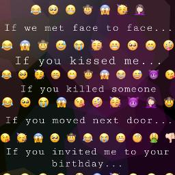 freetoedit emoji test quiz funny cool bright