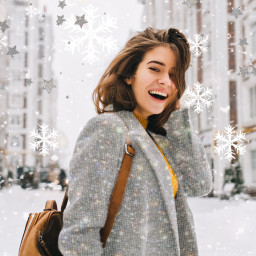freetoedit sparkle glitter glitterclothes glitterclothing aiselect snowflakes winter cold