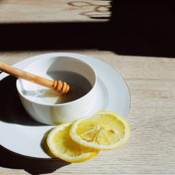 tea honey lemon freetoedit