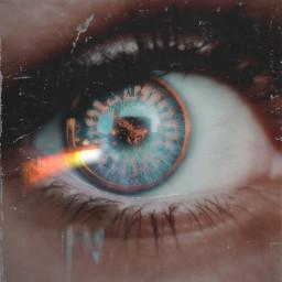 eye clock followme goodnight freetoedit