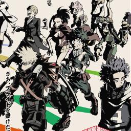 myheroacademia bomunoheroacademia anime manga season5 mha bnha date release releasedate sping 2021