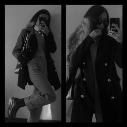 style outfit styleblogger fashionblogger fashionista stylegirl styleicon outfitideas ootd schwarzweiss blackwhite blackandwhite selfie outfitinspiration outfitinspo people
