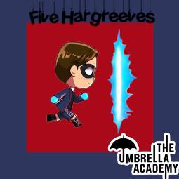 fivehargreeves theumbrellaacademy freetoedit