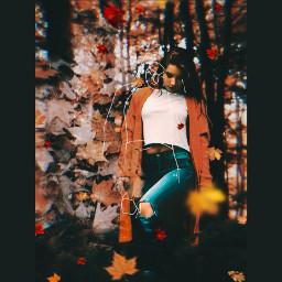 autumn art picsarteffects freetoedit