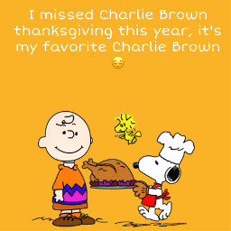 charilebrown snoopy thanksgiving freetoedit