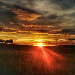 sunrise sonnenuntergang rot red