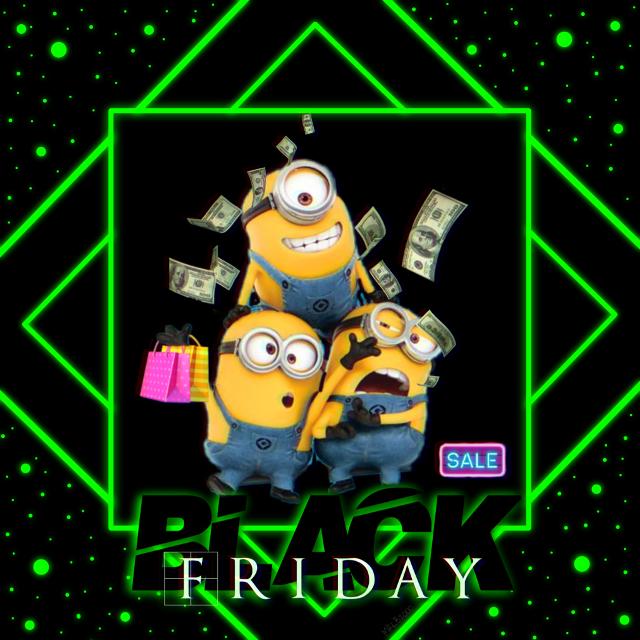 #freetoedit#blackfriday#remix#mrlb2000#shopping#madewithpicsart#minions#lol#happy#myart @pa @freetoedit @picsartjapan