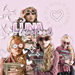 lunalovegood luna hogwarts ravenclaw evannalynch nargles lavenderaesthetic purpleaesthetic freetoedit