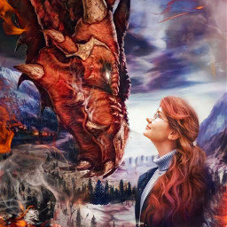dragon dragongirl dragonlove dragonfire mythology