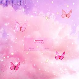 butterfly pink tiktok backgrounds cutegirl day clouds sky summer charlidamelio slayqueen sparkle moon stars purple photography gourgeus prettymuch baddie soft badass party art freetoedit