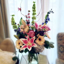 bouquet friendship flowers colorful pastel freetoedit