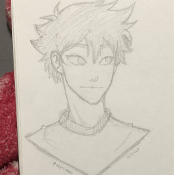 anime drawing doodle art traditionalart animeart sketch haikyuu hinata haikyuuhinata shoyohinata shoyo hinatashoyo shouyouhinata hinatashouyou karasuno