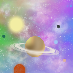 background backdrop sky space planets stars galaxy skylovers naturesbeauty aesthetic holographic colorful pastelcolors stickerart picsarteffects heypicsart picsartmaster masteredit myedit madewithpicsart freetoedit