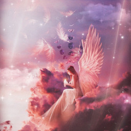 lovly angel freetoedit srcmoonaesthetic moonaesthetic