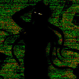 korekiyo shinguji korekiyoshinguji sihlouette danganronpa dr drv3 danganronpav3 glitchcore static eyestrain freetoedit