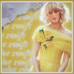 yellow yellowaesthetic flower aesthetic altgirl cottagecore newspaper messyhair taylorswift tayloralisonswift folklore lover yellowdress freetoedit